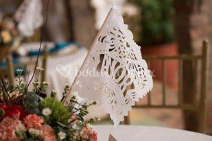 Enrramada de papel picado boda