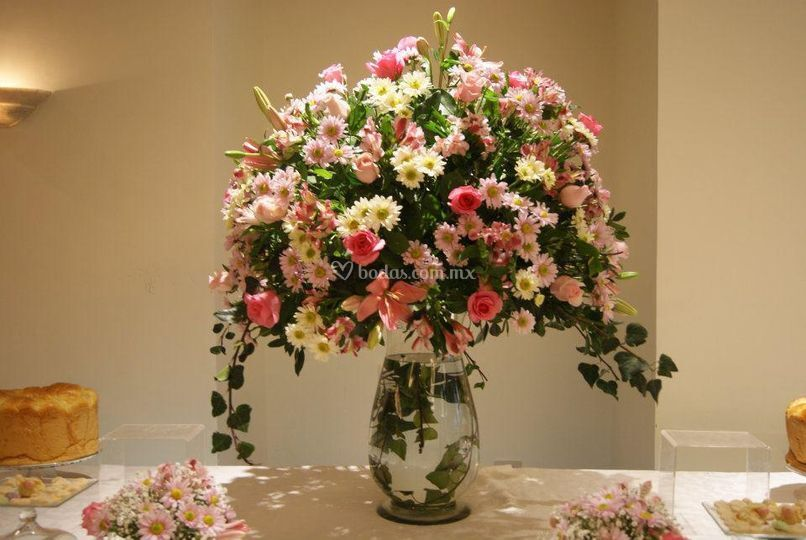 Ambientación floral
