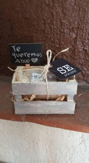 Huacalito individual vintage
