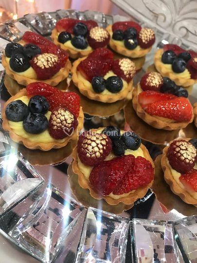 Postre Tartaleta de fruta