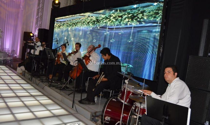 Orquesta performance