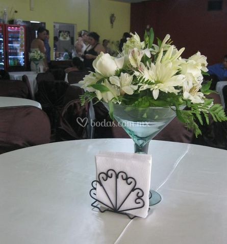 Centro de mesa de vista plaza restaurante foto 6 for Centros de mesa para restaurantes