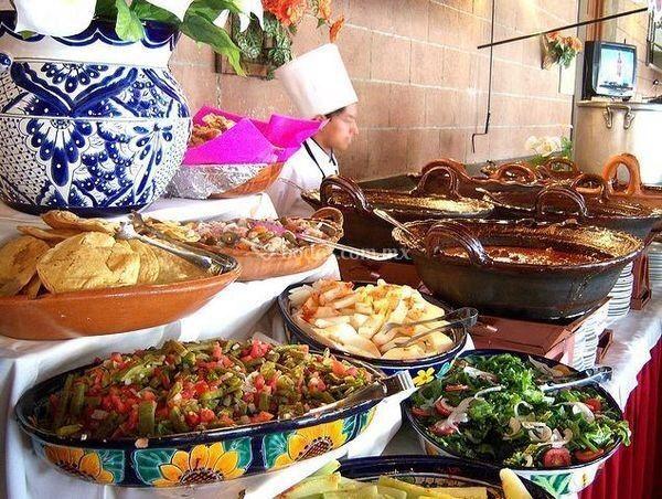 Barra comida mexicana