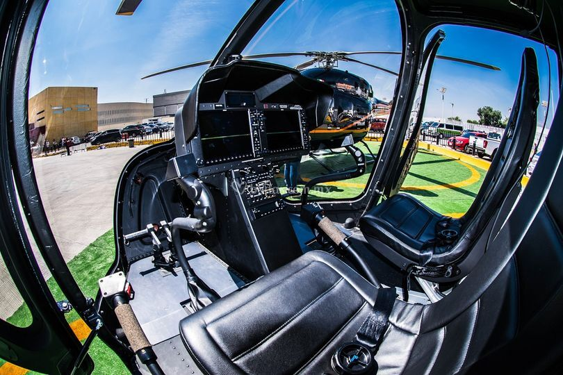 Cabina Bell 505 JRX