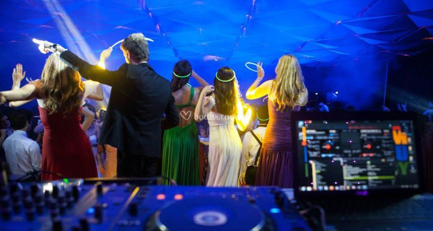 House Of DJ en su boda