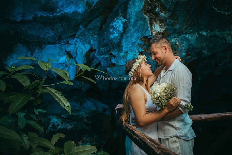 Cenote wedding