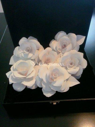 Flor para servilleta