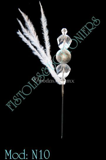 Fistol cristal y plata N10