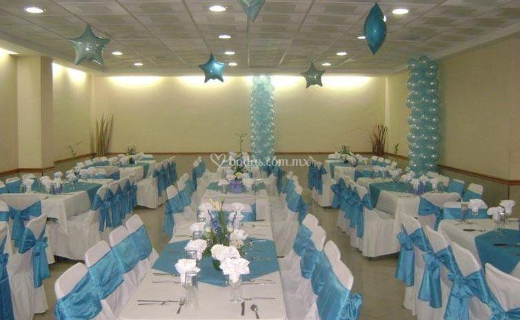 Salón para los eventos