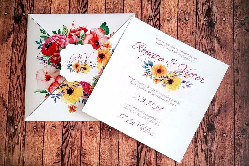 Invitación Toscana