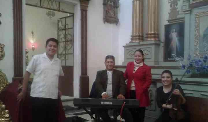 Violin, teclado soprano