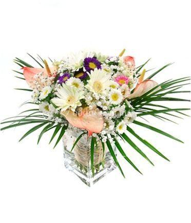 Bouquet de anturios, matsumoto gipsophilia