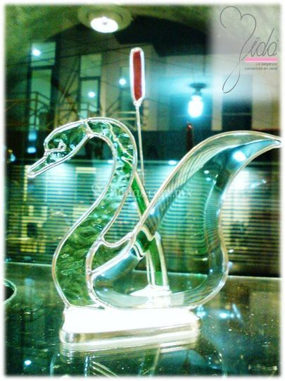 Cisne en vitro