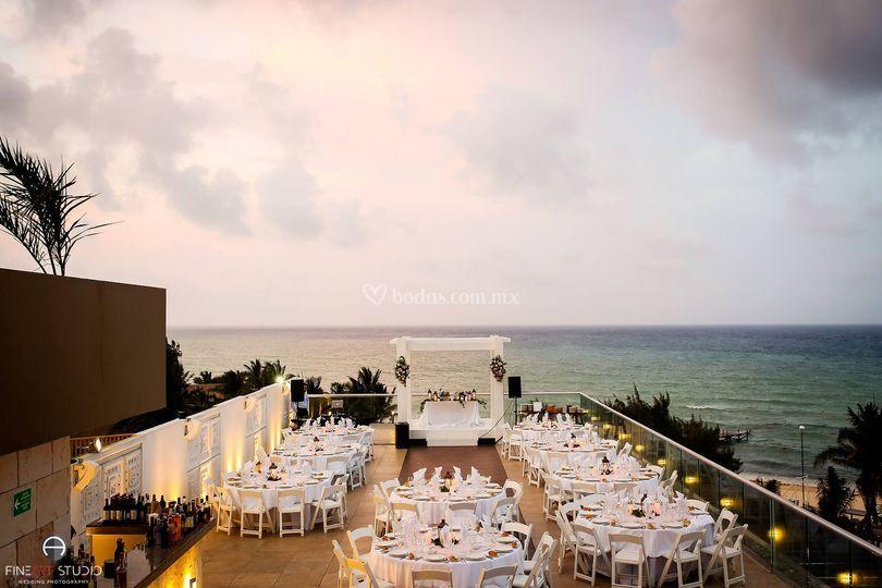 Locación sky wedding