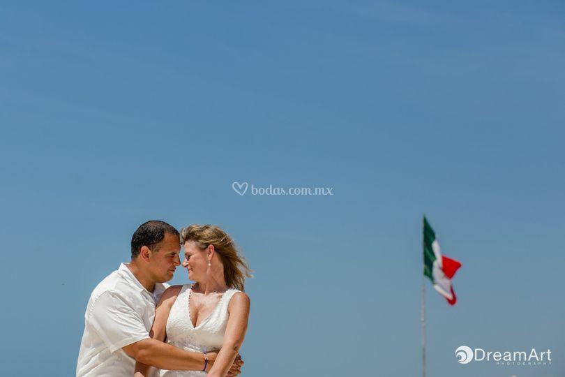 Tu boda en el caribe mexicano