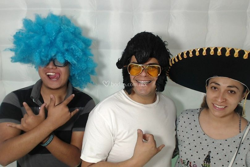 Equipo Crazybooth