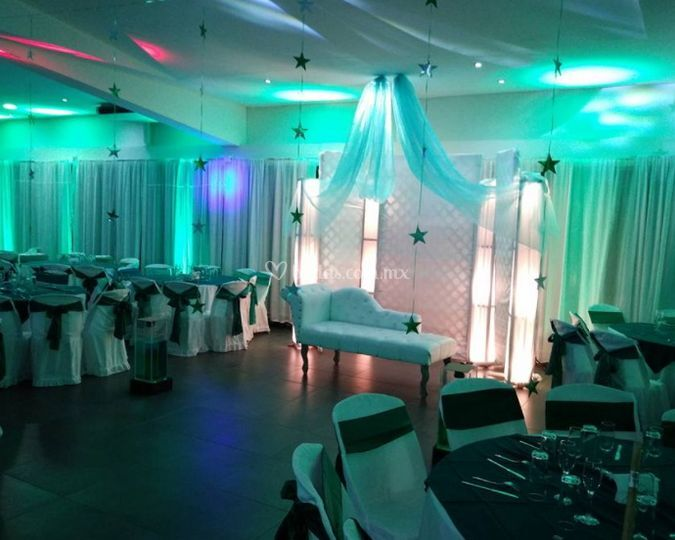 Salón Cristal del Club Royal Center