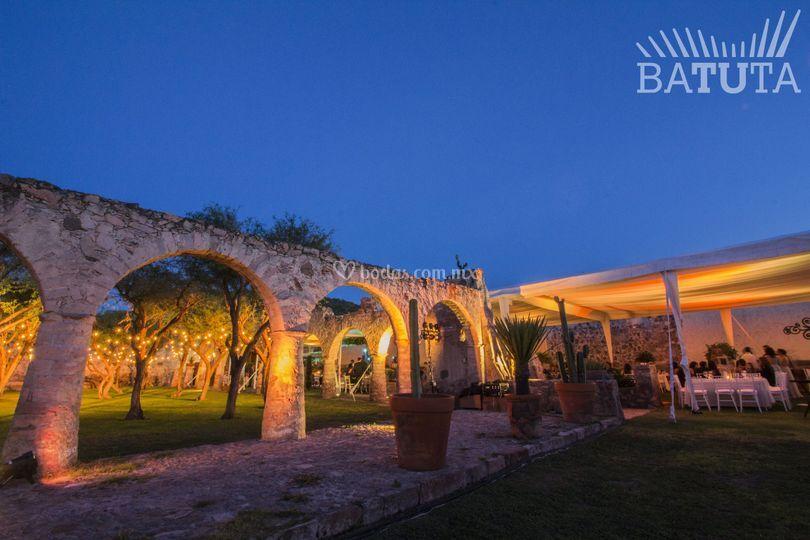 Iluminación en hacienda