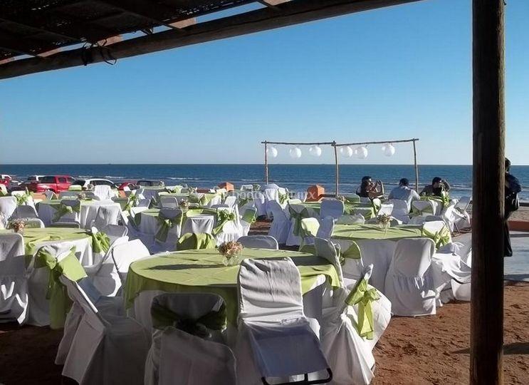 Evento en la playa