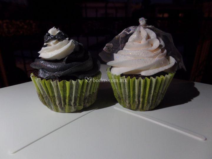 Novios cupcakes