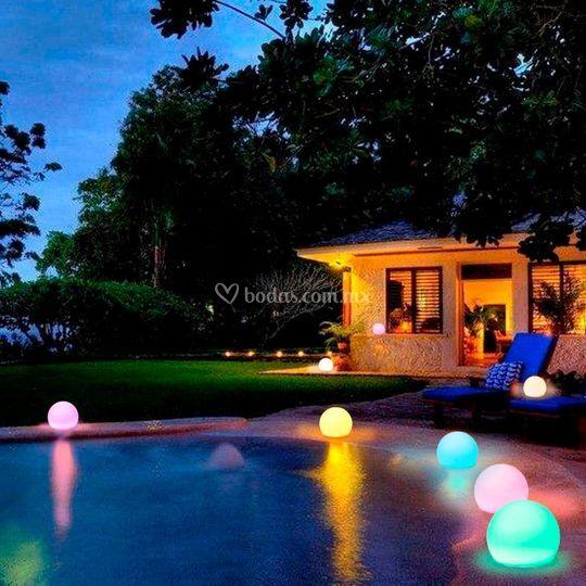 Esferas LED