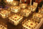 Mesas iluminadas de Hacienda el Capricho