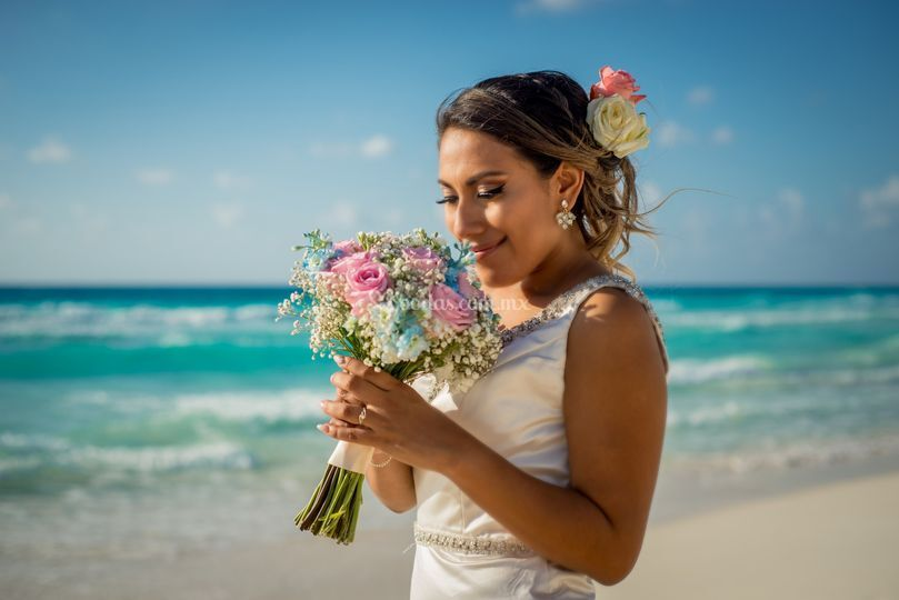 Bride photography cancun