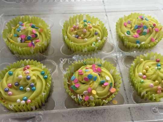 Cup cakes limón