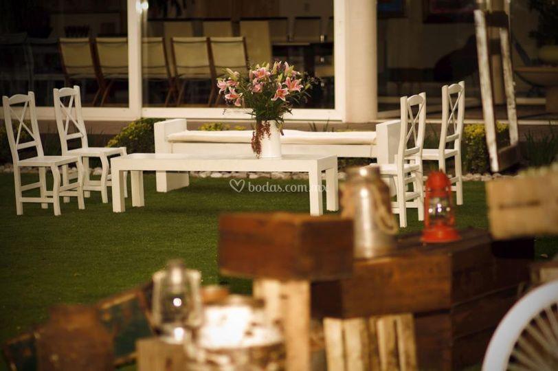 Lounge y accesorios