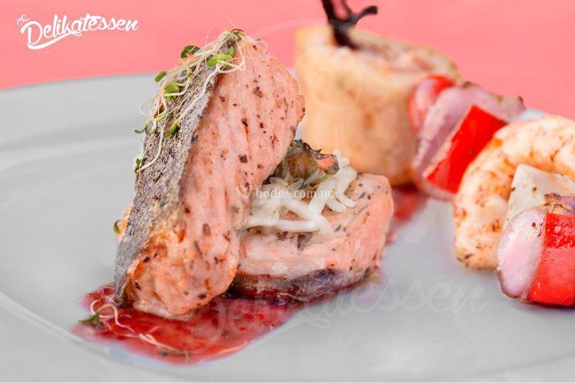 Men s para banquetes de cr delikatessen for Essen proveedores