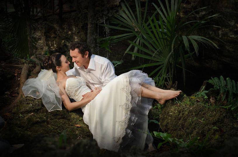 En el cenote
