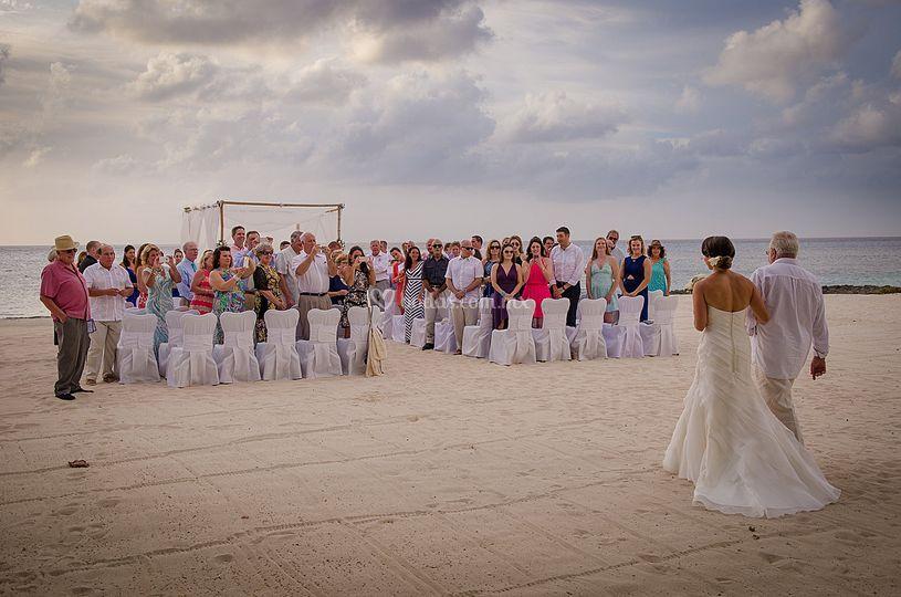 Cozumel wedding