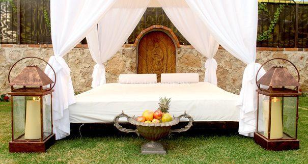 Cama lounge para relax