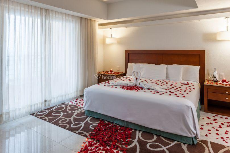 Suite nupcial de Hotel Camino Real - Veracruz