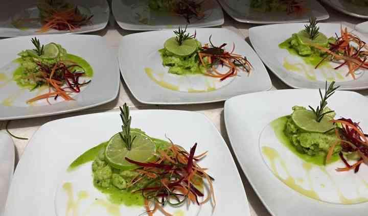 Ceviche al cilantro