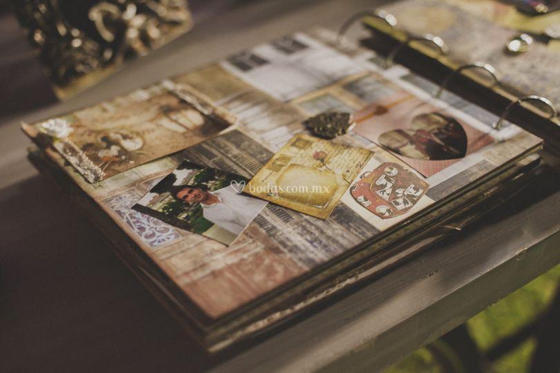 álbumes de fotos y firmas