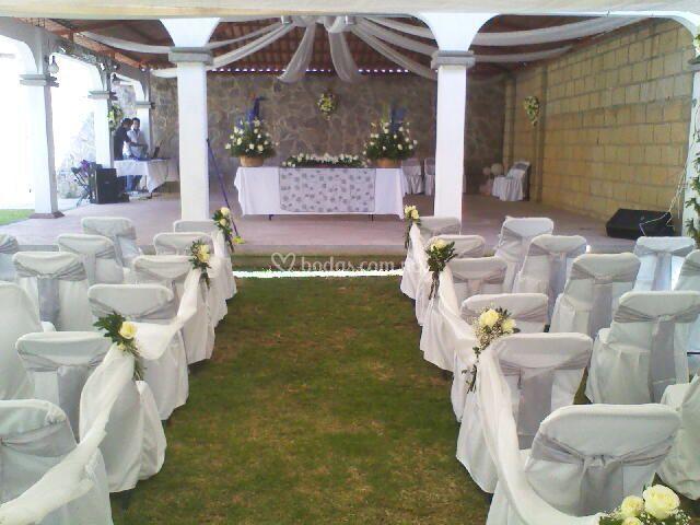 decoración boda de el kiosko | foto 10