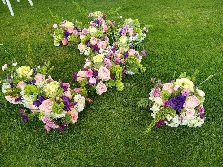 Diseño de arreglos florales