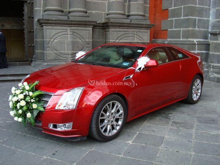 Cadillac rojo