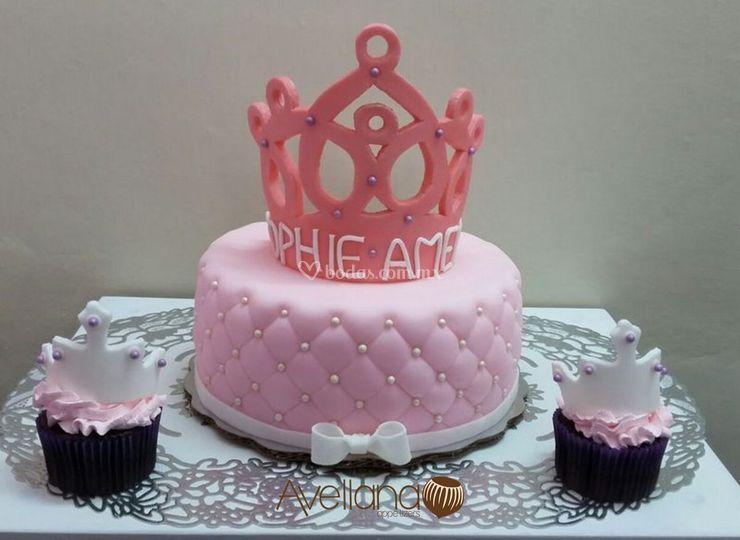 Pastel y Cupcakes temáticos