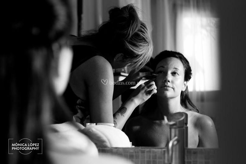 Getting Ready de novia
