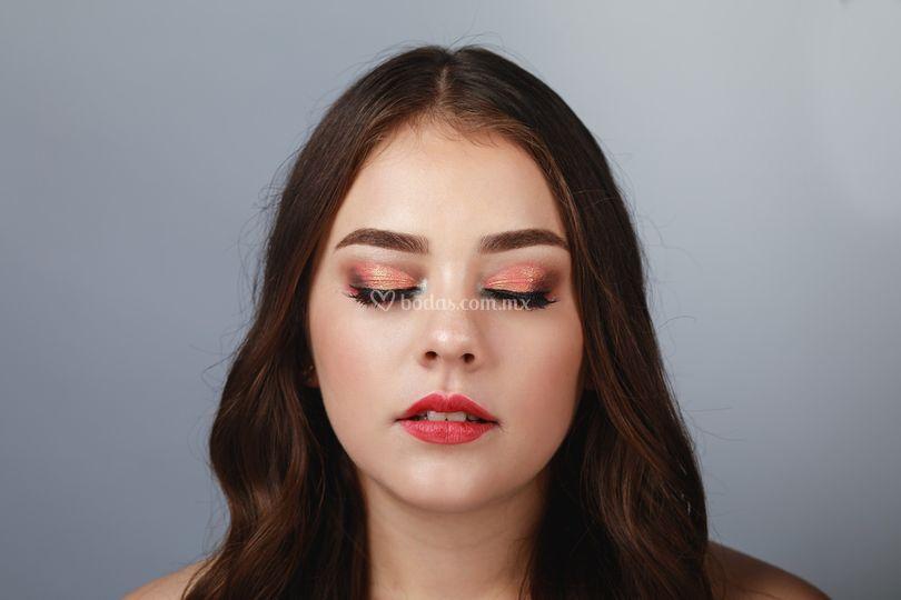 Maquillaje sesión de fotos