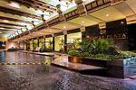 Entrada al hotel de Crowne Plaza Monterrey