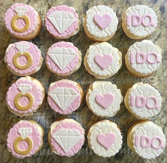 Cupcakes para despedida
