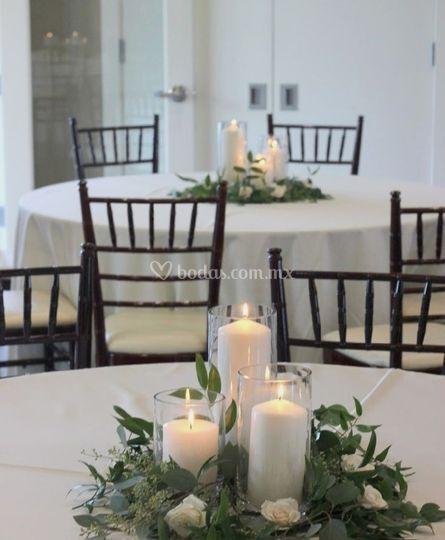 Boda centros de mesa