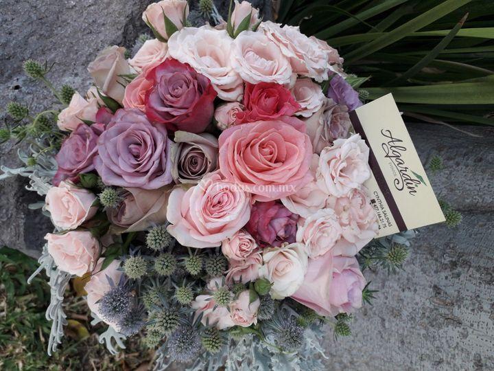 Bouquet de novia caricia