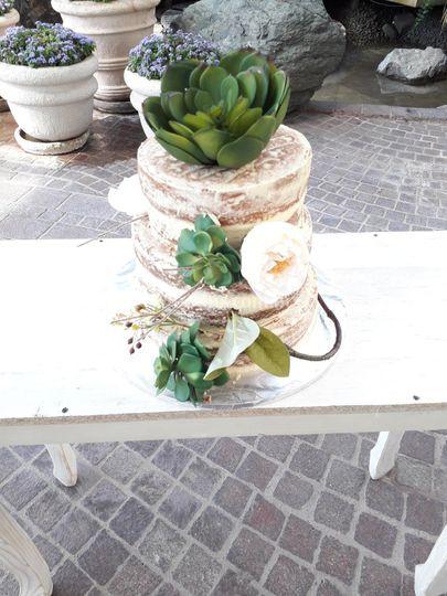 Decorado de pastel Boda