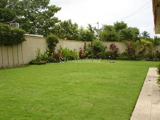 Jardín para su evento
