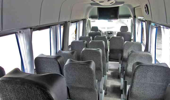 Camioneta interior