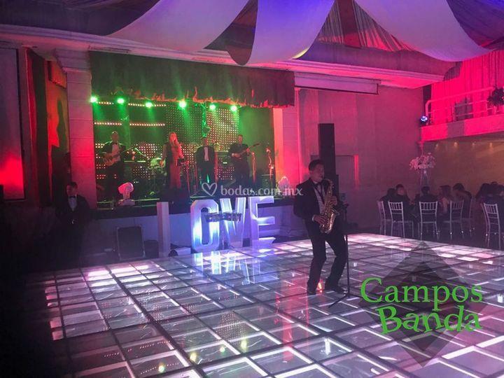 Campos banda sax